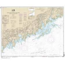 Noaa Chart 12368 North Shore Of Long Island Sound Sherwood Point To Stamford Harbor