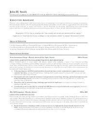 Executive Administrative Assistant Job Description Resume Skills