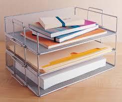 Desk Organizer Office Desk Organizer Storage Design Ideas Single Tray Stackable