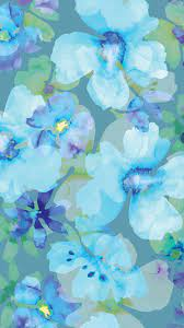Blue Flower iPhone Wallpapers - Top ...