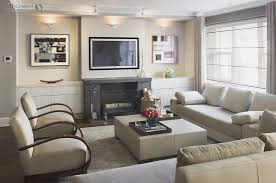 cool small family room furniture arrangement