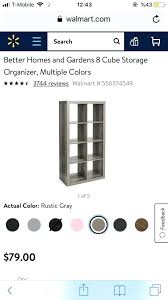 better homes and gardens 8 cube organizer multiple colors furniture multiple colors better homes and gardens
