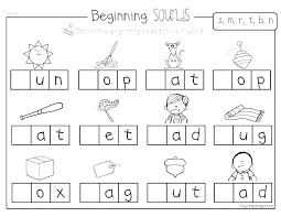 Kindergarten phonics worksheets, short vowels,a,e,i,o,u, phonics printables for kindergarten, beginning consonants, ending consonants, learn to read, short vowel a, short vowel e, word families at, an, et, est, ed, hard g, writing letters, handwriting, word formation, how to read words, for children. Coloring Pagesarten Phonics Worksheets Freeable Pdf Worksheet Jolly Remarkable Phonic Picture Inspirations Awarofloves Jaimie Bleck