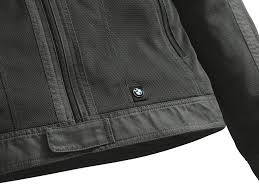 bmw venting motorcycle jacket men anthracite
