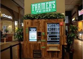 Ben And Jerry's Vending Machine Cool Farmer's Fridge The Healthiest Vending Machine You Have Ever Seen