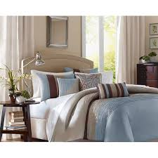 madison park m blue 6 piece duvet cover set