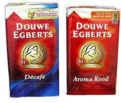 The dutch are real coffee lovers. Douwe Egberts Dutch Coffee And Pickwick Dutch Tea