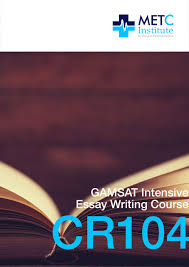 metc institute study high yield gamsat essay topics intensive gamsat essay writing course become an expert in gamsat essay topics