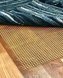 contemporry s hrdwood rubber rug pad side up or down