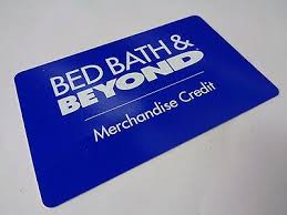 Bed Bath Beyond Gift Card Merchandise Credit With Bed Bath And Beyond  Credit Card Application