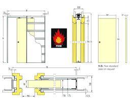 pocket door dimensions pocket door plan diagram showing dimensions of the fire rated sliding pocket door
