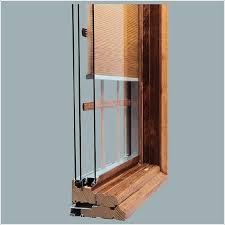 how mini blinds between glass work