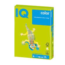 Купить <b>Бумага цветная IQ</b> color, А4, 80 г/м2, 100 л., неон 110848 ...