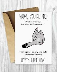 printable cards for birthday happy 40th birthday cards free unique 40th birthday card printable