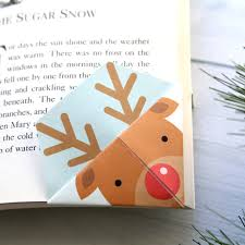 Bookmark Designs To Print Printable Christmas Origami Bookmarks Its Always Autumn