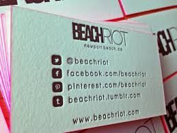 Eight Awesome Examples Of Social Media Business Cards Real