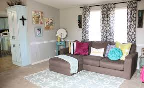 Mobile Home Living Room Mobile Home Living Room Reveal Re Fabbed