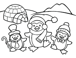 Baby Penguin Coloring Pages Cute Baby Penguin Coloring Pages Cute