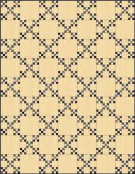 Single Irish Chain Quilt Patterns and Blocks & Double Nine Patch Quilt Block in a single Irish Chain Adamdwight.com