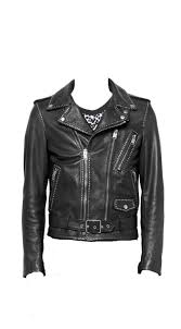 home men leather jackets all over studded mens