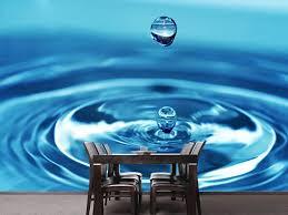 Vlies Fototapete Der Wassertropfen My Wallstickerde