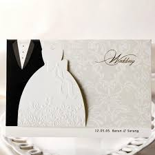 online buy wholesale bride groom wedding invitations from china Bride And Groom Wedding Cards new classic bride and groom wedding invitation cards black and white western style wedding invitations( bride and groom wedding bands