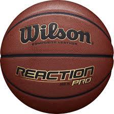 <b>Мяч баскетбольный Wilson Reaction</b> Pro 285 Bskt №6, коричневый