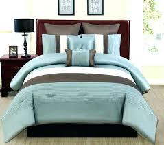 teal and brown comforter blue sets king bedding set bedroom orange