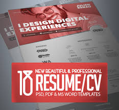 Professional Resume Templates 2013 18 Professional Cv Resume Templates And Cover Letter