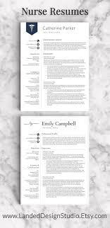 Nurse Resume Template Free Cover Letter Nursing Templates Pics