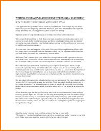 personal statement essay examples for college related how to  11 personal essay topics college address example how to write a for high school examples of