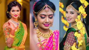 Makeup Youtube Indian For Engagement Indian Simple Hairstyle For