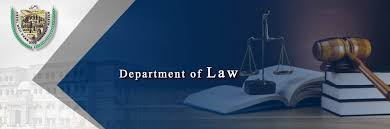 Department of Law, Faculty – AWKUM