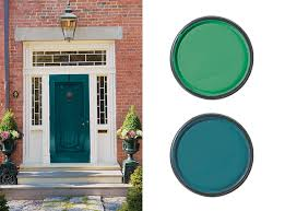 red front door on brick house. Front Door Paint Colour For A Red Brick House On E