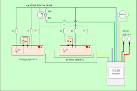 class 50 dcc conversion and lighting update circuit diagram