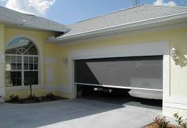 garage door screen for large openings