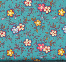 Happy in Teal Cotton Quilt Fabric for Sale, Marshall Dry Goods ... & Happy in Teal Cotton Quilt Fabric for Sale, Marshall Dry Goods, Fat Quarter, Adamdwight.com
