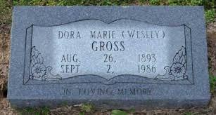 GROSS, DORA - Craighead County, Arkansas | DORA GROSS - Arkansas Gravestone  Photos