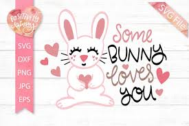Check out our kids valentines svg selection for the very best in unique or custom, handmade pieces from our shops. Some Bunny Loves You Svg Kids Valentines Svg Easter Svg 418925 Svgs Design Bundles