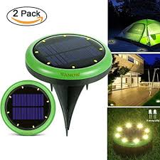 in ground lighting. [Upgrade] Solar Outdoor Lights, Garden Pathway In-Ground Lights  With 8 In Ground Lighting