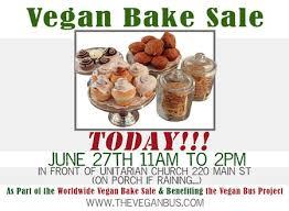 Vegan Bake Sale Recipes Worldwide Vegan Bake Sale In Northampton The Vegan Bus