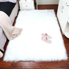 white faux sheepskin rug fur blanket decorative blankets for bed floor rugs ikea canada faux sheepskin rug