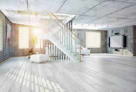 2 gray and whitewashed hardwood floors