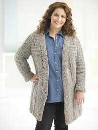 Lacy Crochet Cardigan Pattern Interesting Decoration