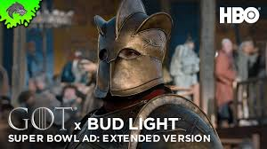 Bud Light Commercial Game Of Thrones Hd Game Of Thrones Season 8 Budlight Super Bowl Teaser Extended