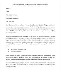 29 hr wel e letter templates free sample example format within wel e letter for new employee