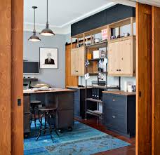saveemail industrial home office. Industrial Office Lighting With Modern Bar Stools And Counter Home Dark Hardwood Saveemail