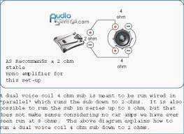 50 awesome subwoofer wiring diagrams 1 ohm diagram tutorial 4x12 16 ohm wiring diagram 50 awesome subwoofer wiring diagrams 1 ohm diagram tutorial subwoofer wiring diagrams dual voice coil
