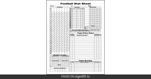 Football Score Sheet Template Nfcnbarroomcom Threeroses Us