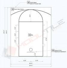 20x24 basketball court floor kit